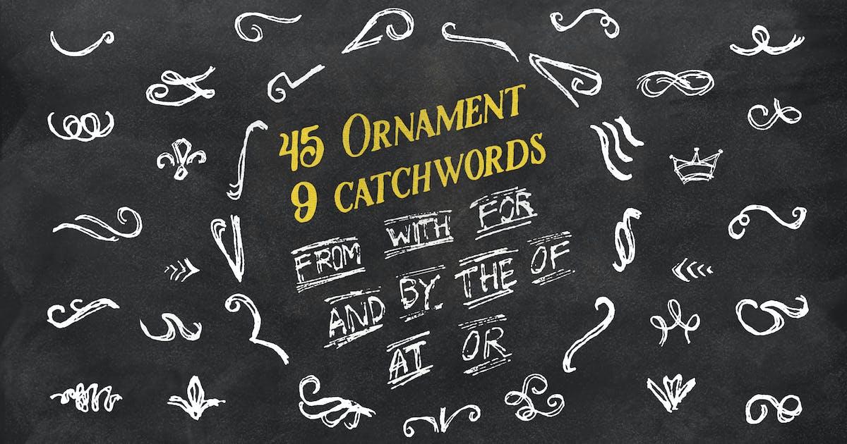 Download 45 Ornament + 9 Catchwords by jiwstudio