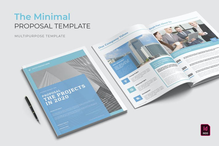 Thumbnail for Minimal | Proposal Template