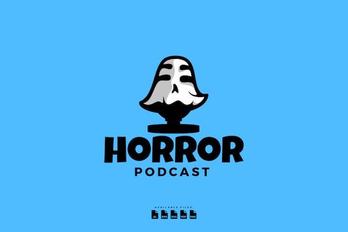 Thumbnail for Logo Mic Horror For Podcast