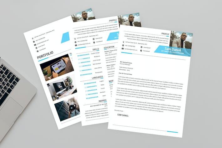 Thumbnail for Sweet Resume Designer