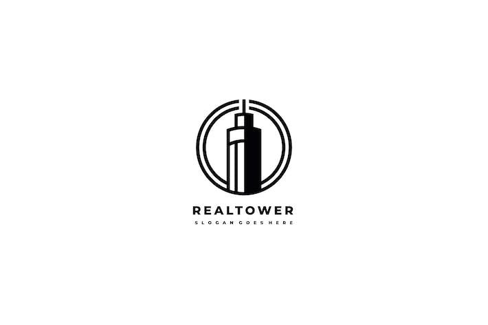 Thumbnail for Real estate Tower Logo