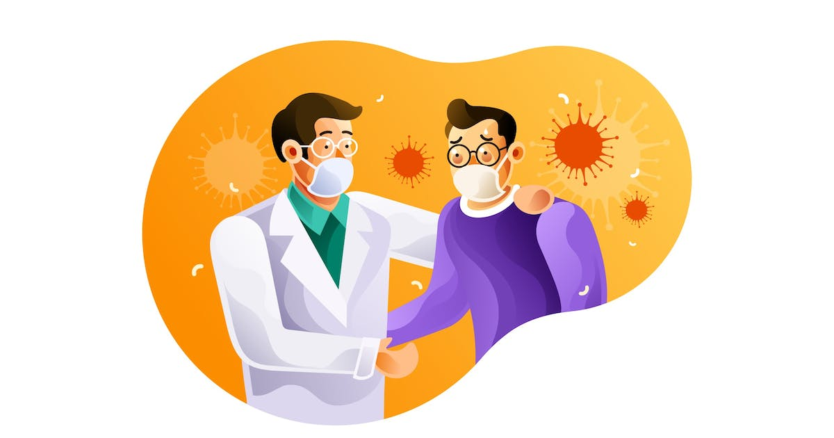 Download Doctors and coronavirus patients use masks by IanMikraz