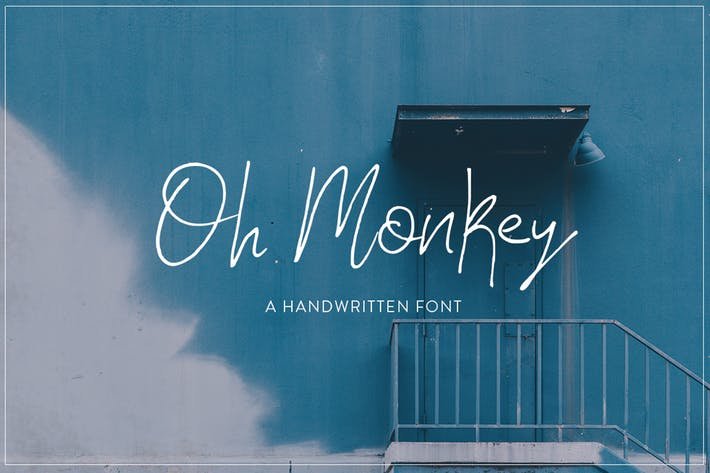Thumbnail for Oh Monkey Font
