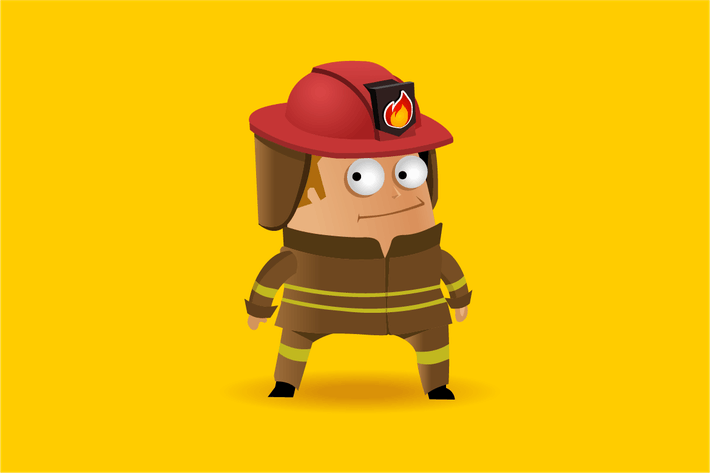 Thumbnail for Fire fighter