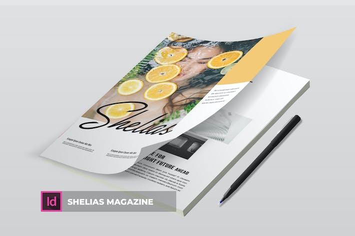 Thumbnail for Shelias | Magazine Template