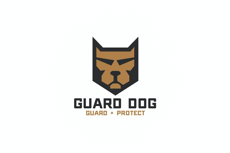 Guard Dog Shield Logo