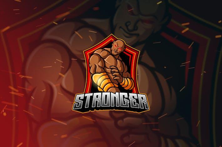 Thumbnail for Stronger - Mascot & Esport Logo