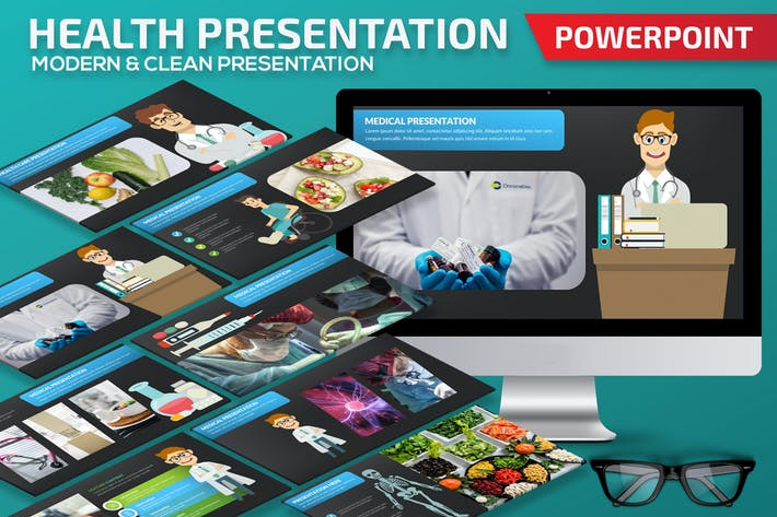 Cover Image For Health Powerpoint Presentation Template