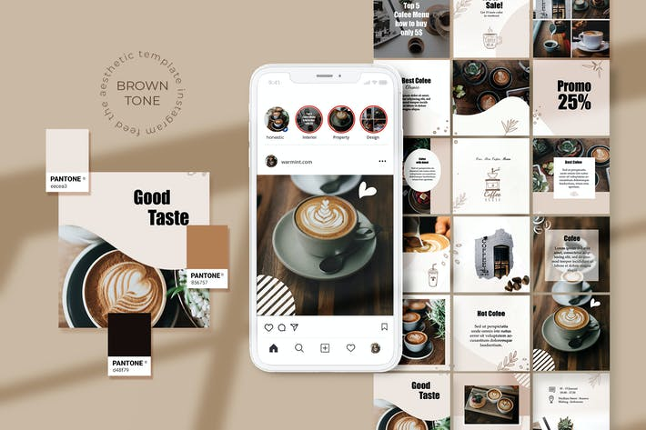 Thumbnail for Coffee Shop Instagram Puzzle