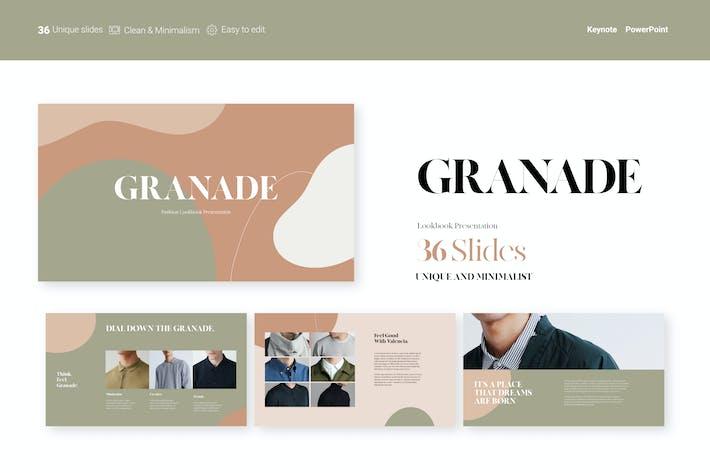 Thumbnail for Granade Lookbook Presentation