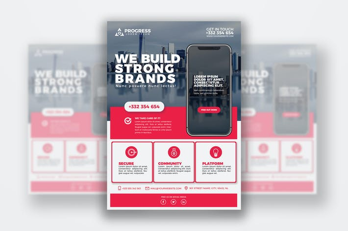 Thumbnail for Business Flyer Print Template