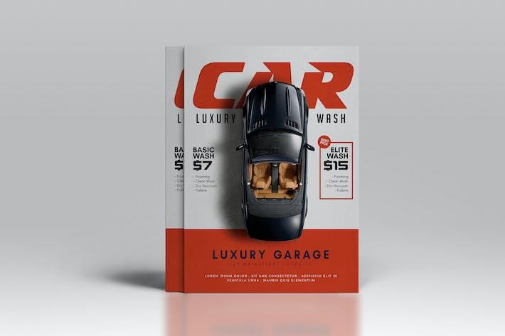 Thumbnail for Car Wash Flyer