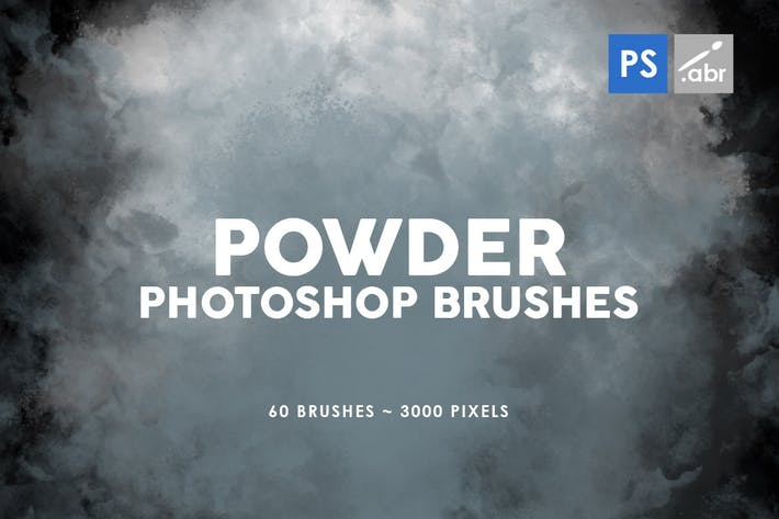 Thumbnail for 60 Powder Photoshop Stamp Brushes