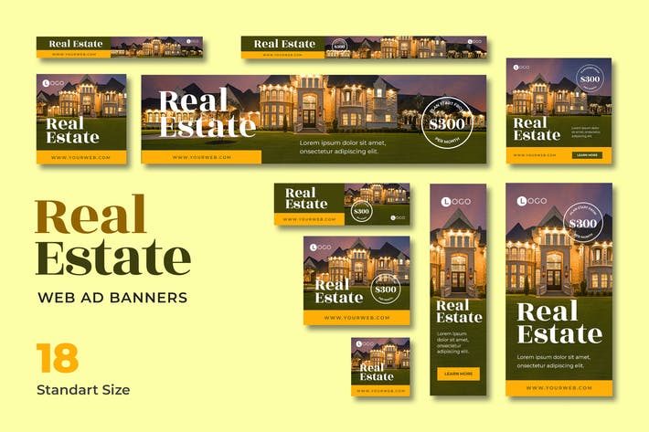Thumbnail for Real Estate Web Banner