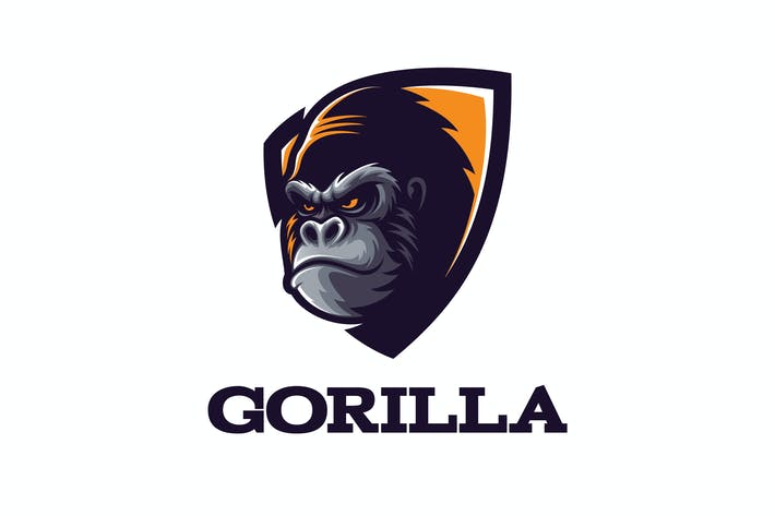 Thumbnail for Intimidating Gorilla Logo