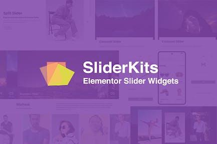 SliderKits - Advanced Elementor Slider Widgets