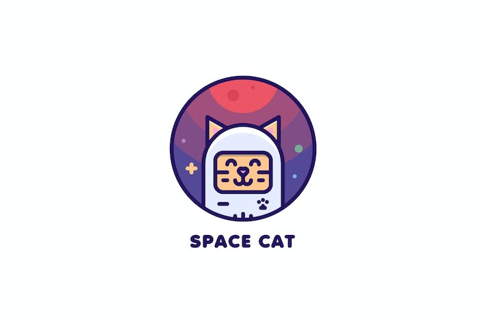 Cover Image For Space Cat