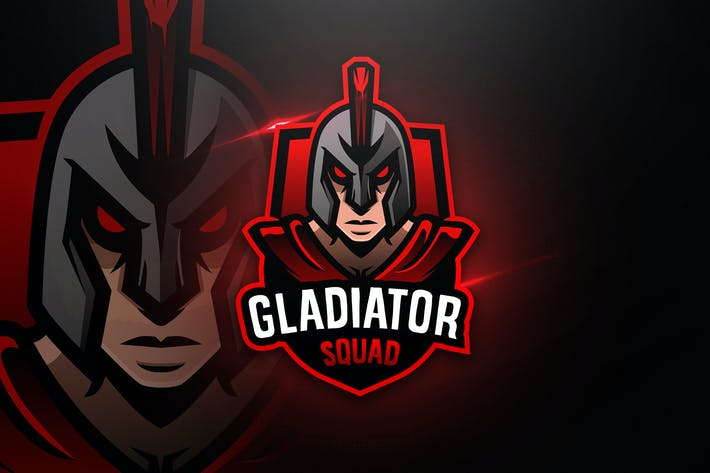 Thumbnail for Gladiator Squad - Mascot & Esport Logo