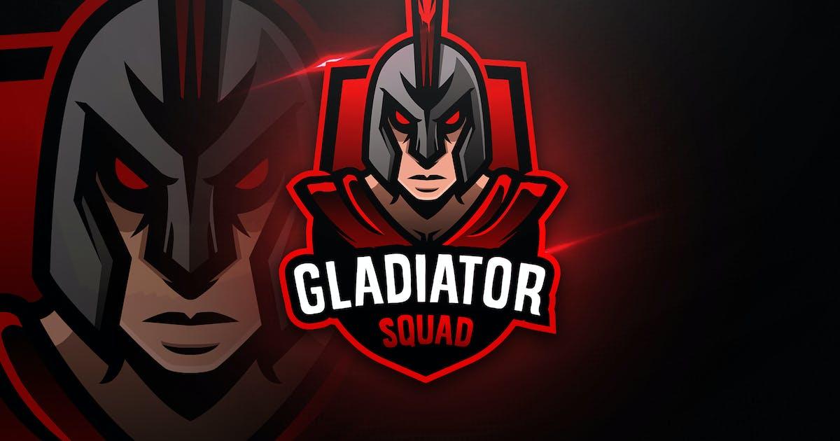Download Gladiator Squad - Mascot & Esport Logo by aqrstudio