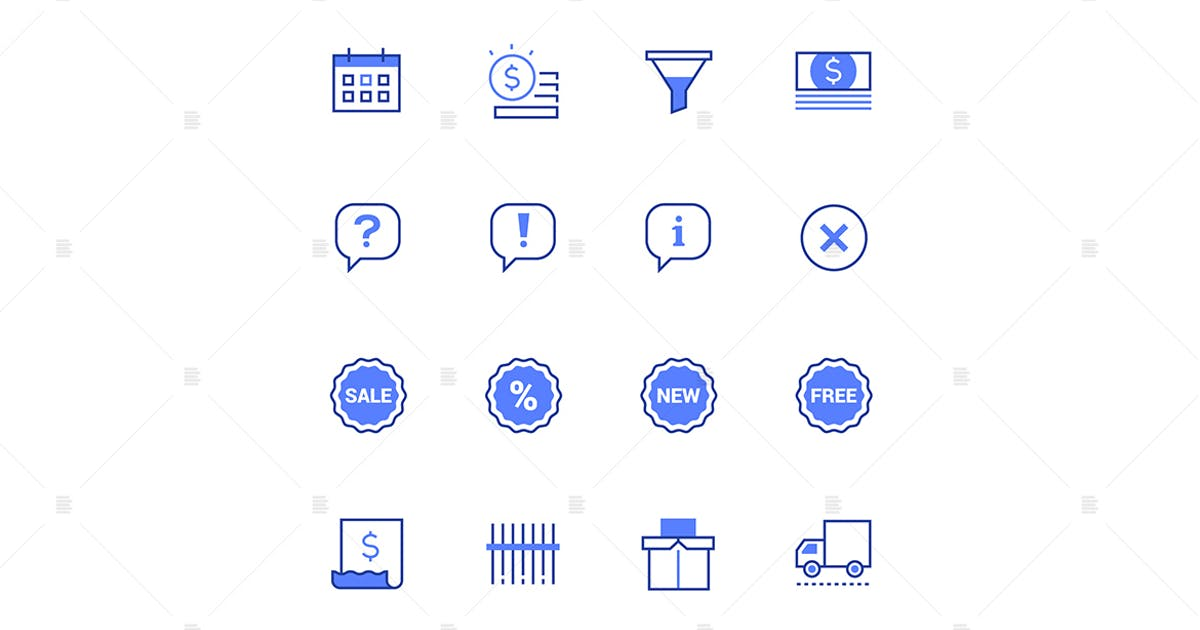 Download Planning and organization thin line icons set by BoykoPictures