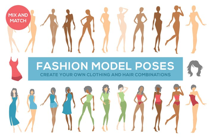 Thumbnail for Fashion Illustration Model Poses