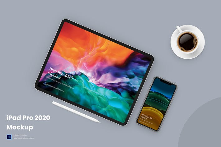 Thumbnail for iPad Pro 2020 Mockup 1.0