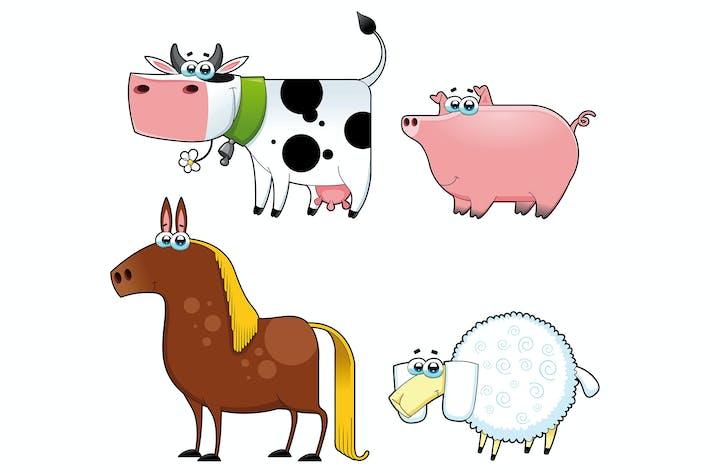 Thumbnail for Funny farm animals.