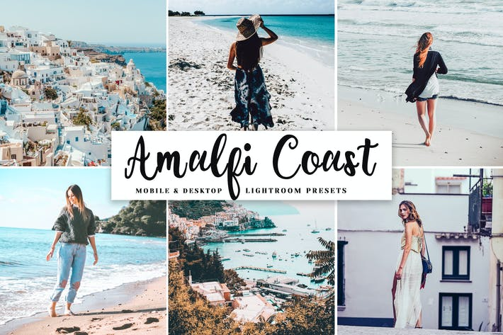 Thumbnail for Amalfi Coast Mobile & Desktop Lightroom Presets