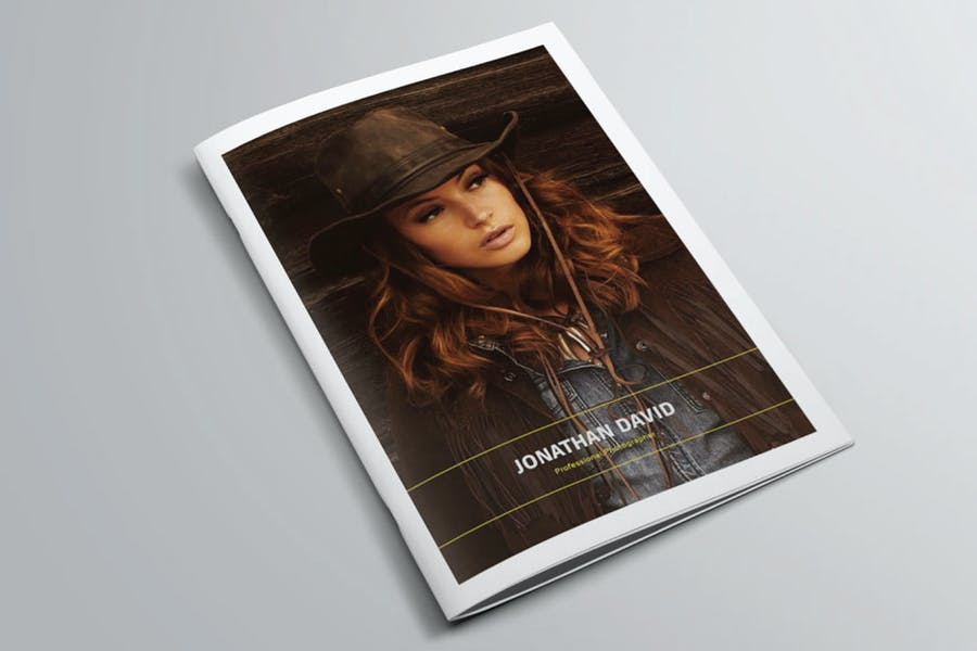 Indesign Photography Portfolio Templete