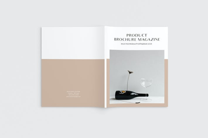 Cover Image For Product Catalog Magazine