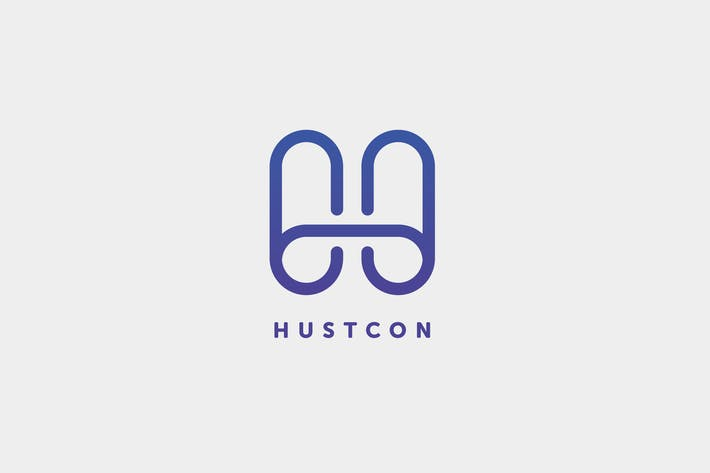 Thumbnail for H+C Letter Hustcon Logo Template