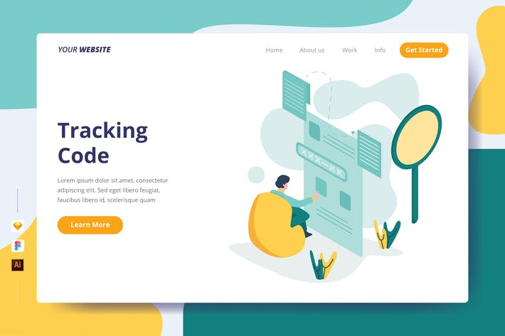 Thumbnail for Tracking Code - Landing Page