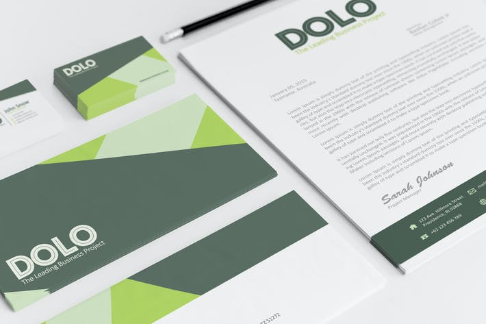 Thumbnail for Dolo Corporate Identity Template