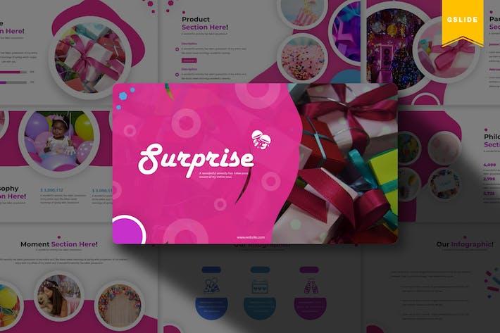 Thumbnail for Sureprise | Google Slides Template