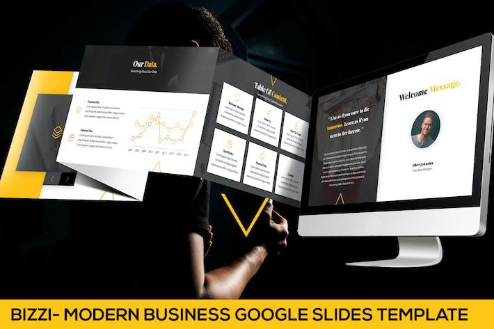 Thumbnail for Bizzi - Modern Business Google Slides Template