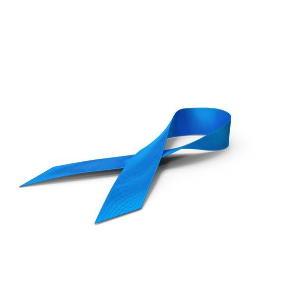 Bekanntheitssymbol des blauen Band