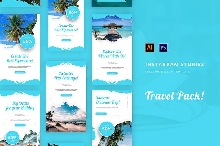 Thumbnail for Travel Instagram Story Template