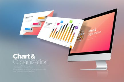 Chart & Organization PowerPoint
