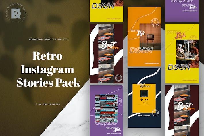 Retro-Instagram-Geschichten