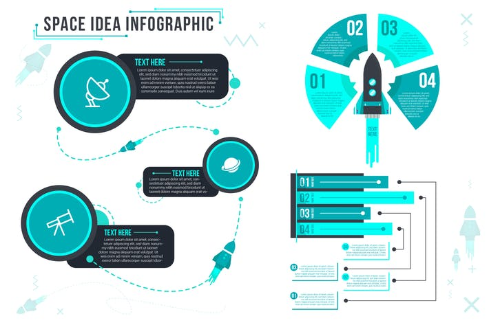 Thumbnail for Space Idea - Infographic
