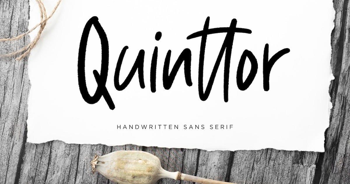 Download Quinttor Sans Serif by RahardiCreative