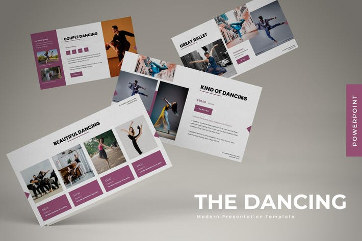 Thumbnail for The Dancing - Powerpoint Template