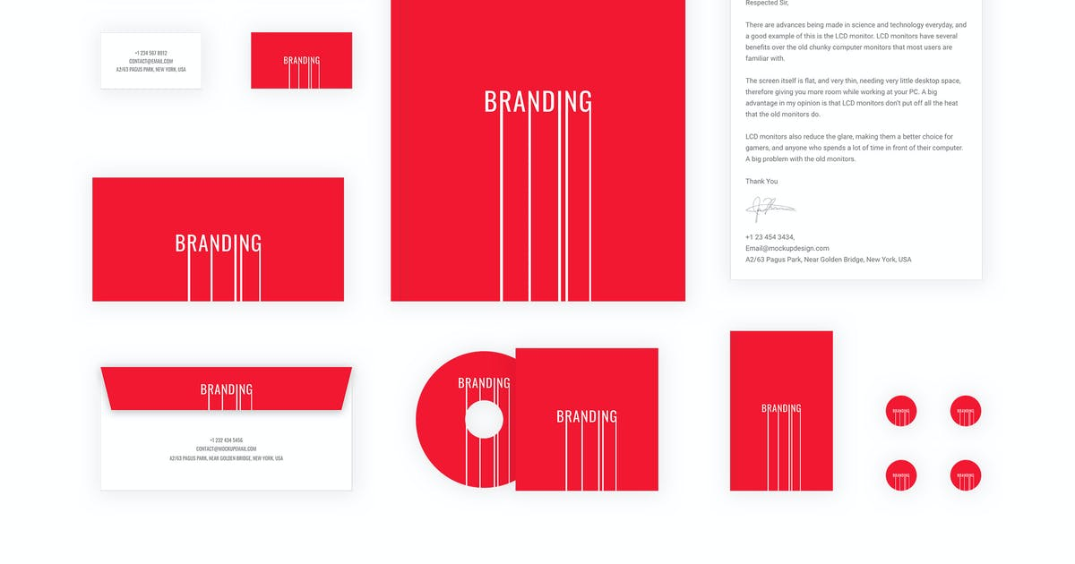 Download Branding identity mock up - Branding Lines by themepassion