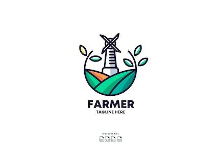 Farmer Logo Design Template