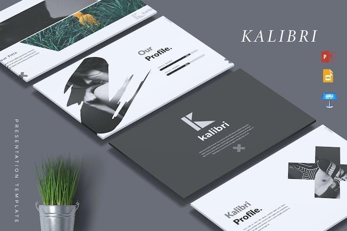 Thumbnail for KALIBRI - Creative Powerpoint/Google Slide/Keynote