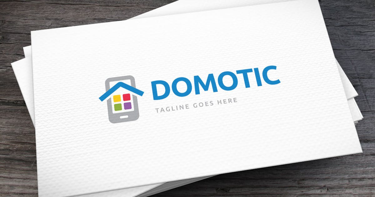 Download Domotic Apps Logo Template by empativo