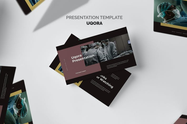 Uqora : Healthcare Proposal Keynote