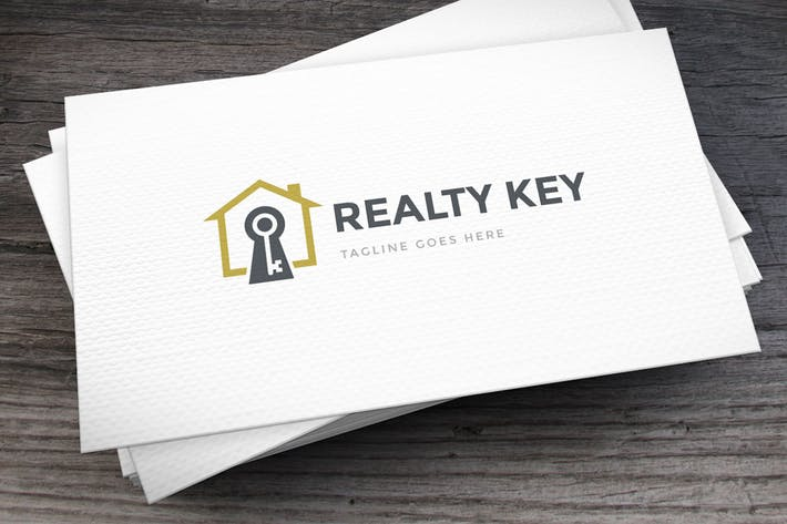 Thumbnail for Realty Key Logo Template