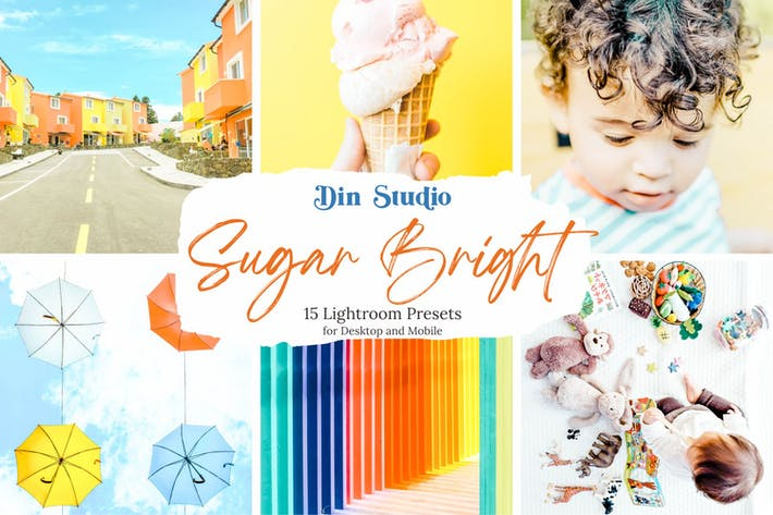 Thumbnail for Sugar Bright Lightroom Presets