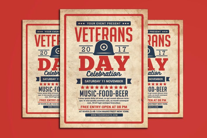 Thumbnail for Veterans Day Flyer